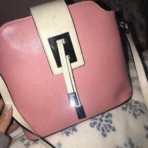 Light pink satchel